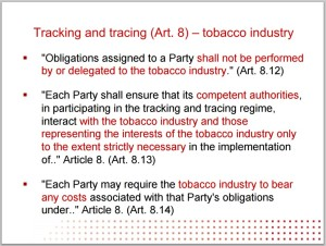 tobacco industry trading