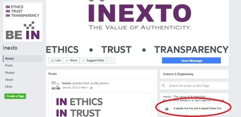 inexto 4 likes facebook